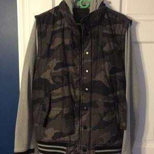 Bar III camo jacket